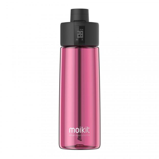 Moikit Gene chytrá sportovní lahev 700 ml - červená
