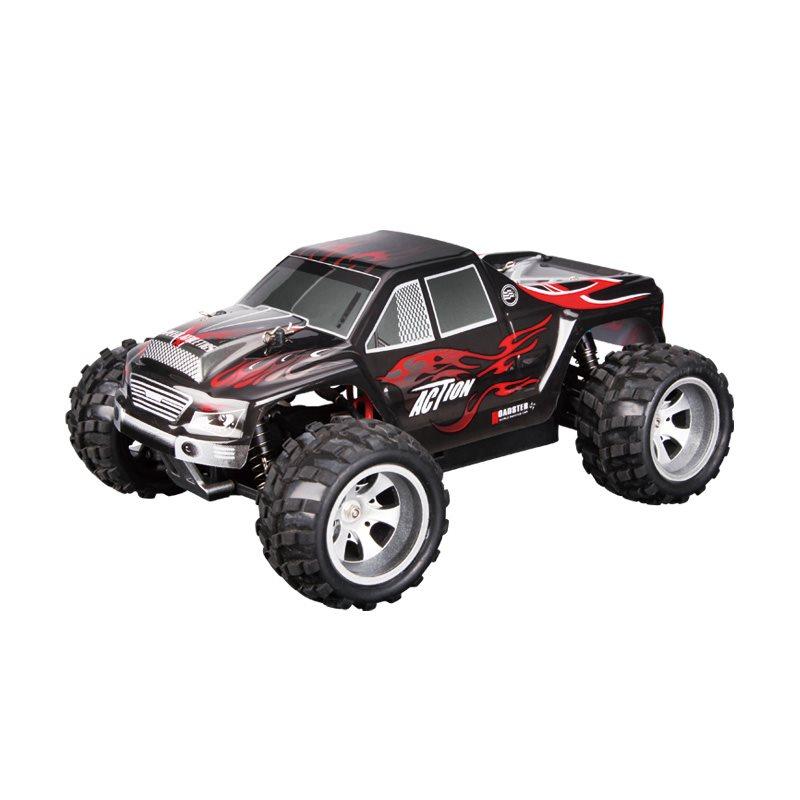 JJR/C Off-Road auto 2.4G 1:18 RC, A979, černá