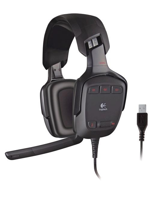 Logitech sluchátka s mikrofonem G633 Artemis Spectrum Gaming Headset, USB