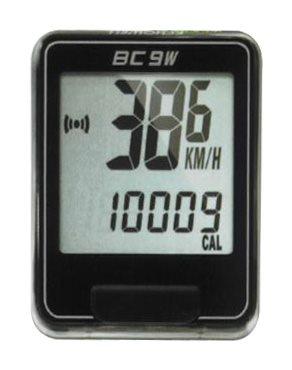 Echowell BC9W bezdrátový cyklo počítač, černá