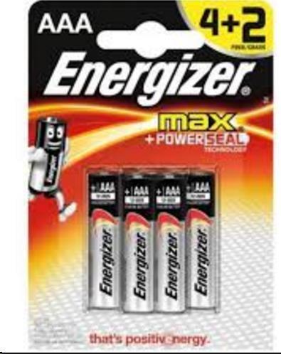 ENERGIZER Ultra+ E92 Max AAA/ 4+2 free