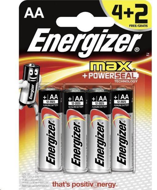 ENERGIZER Ultra+ E91 Max AA/ 4+2 free