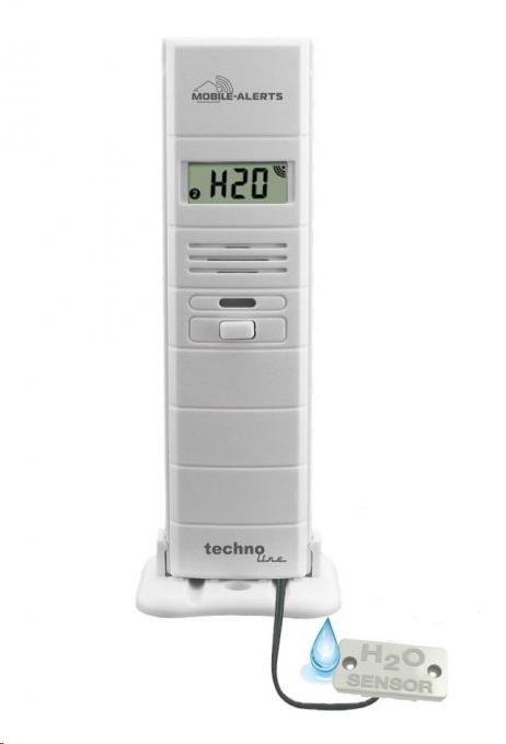 TechnoLine MA10350 - Bezdrátové čidlo pro měření teploty a rel. vlhkosti s kabelem pro detekci vody