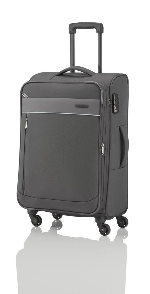 Travelite Delta 4w M Grey