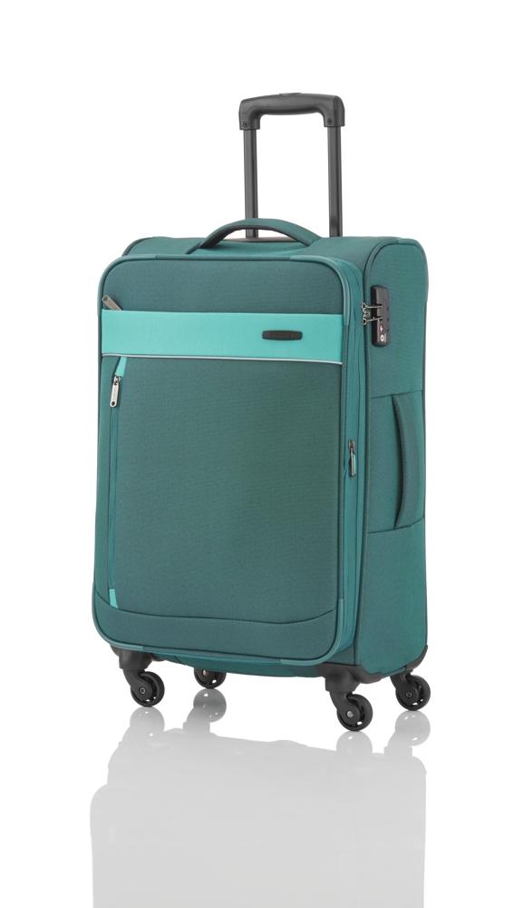 Travelite Delta 4w M Pine green