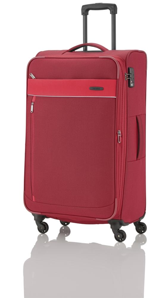 Travelite Delta 4w L Red