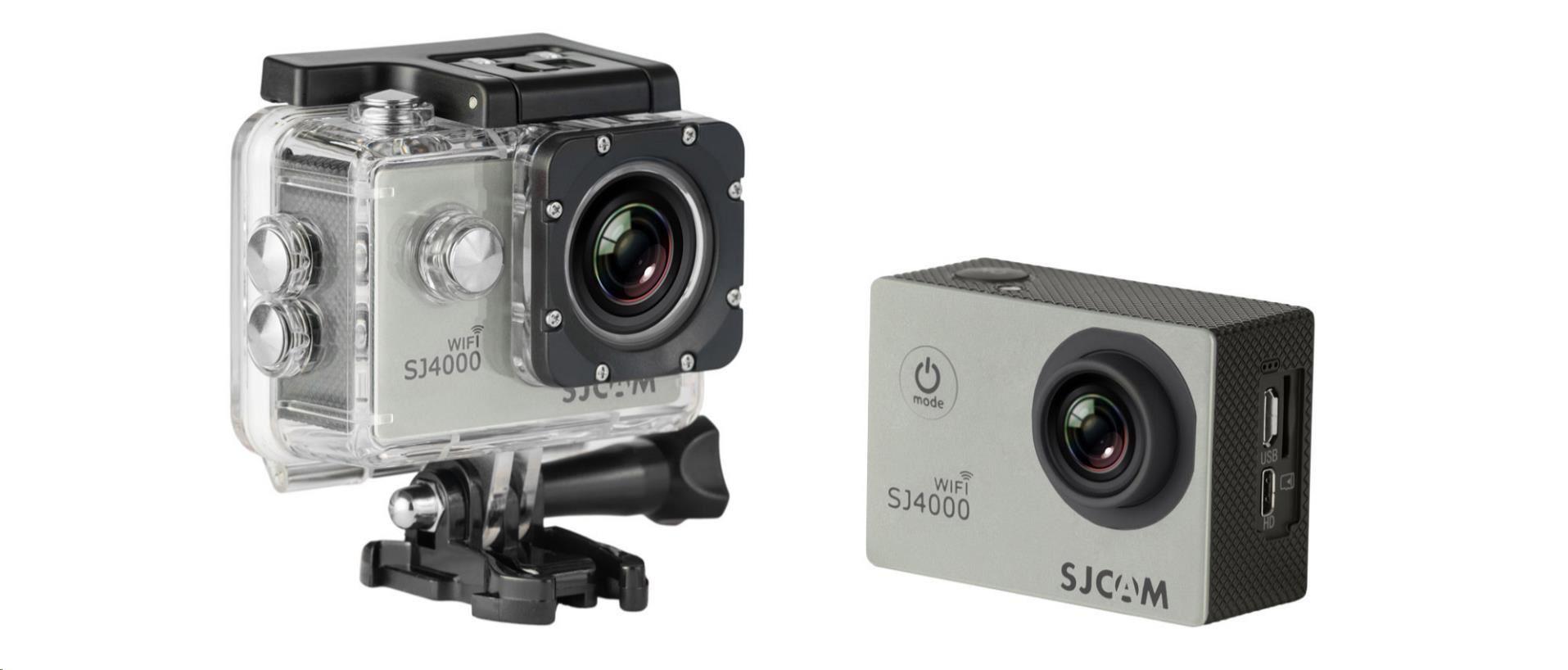 SJCAM SJ4000 WiFi akční kamera - Silver
