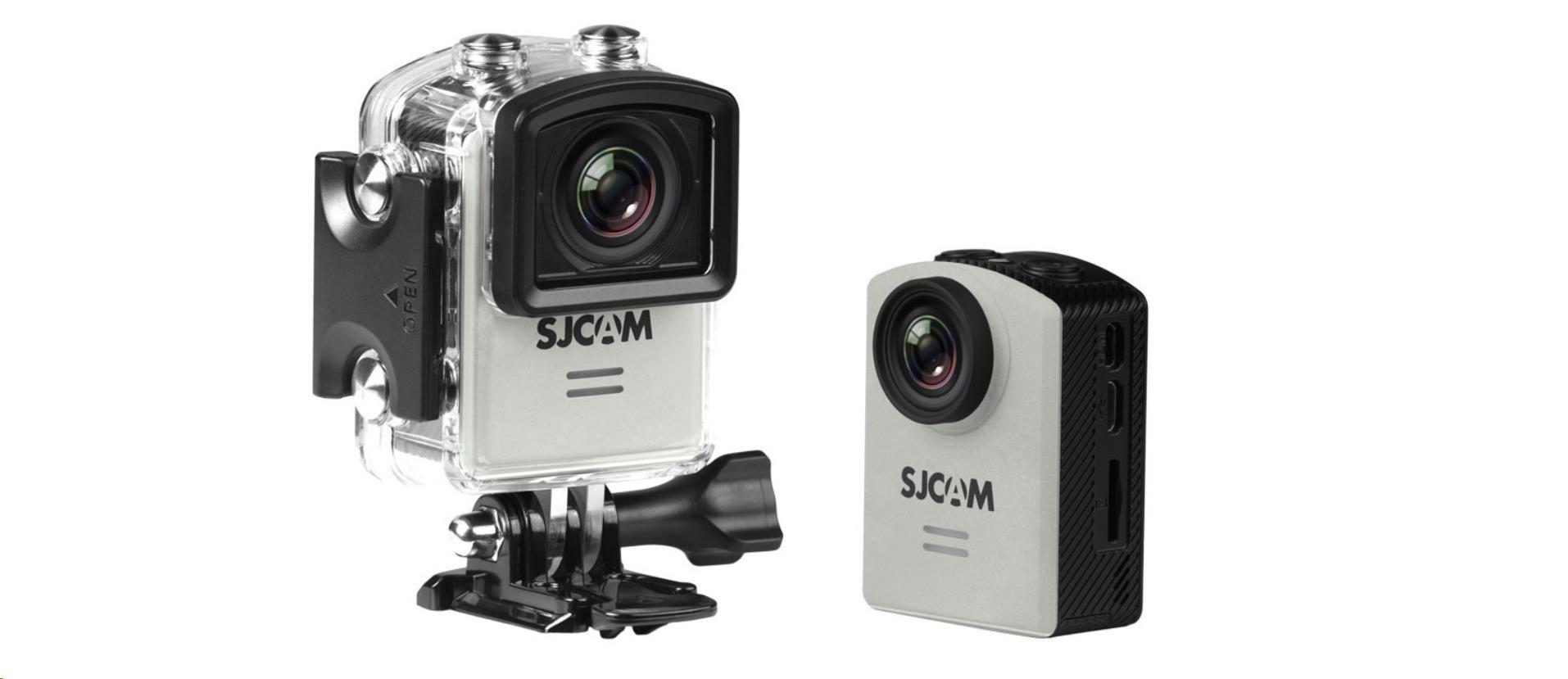 SJCAM M20 akční kamera - Silver