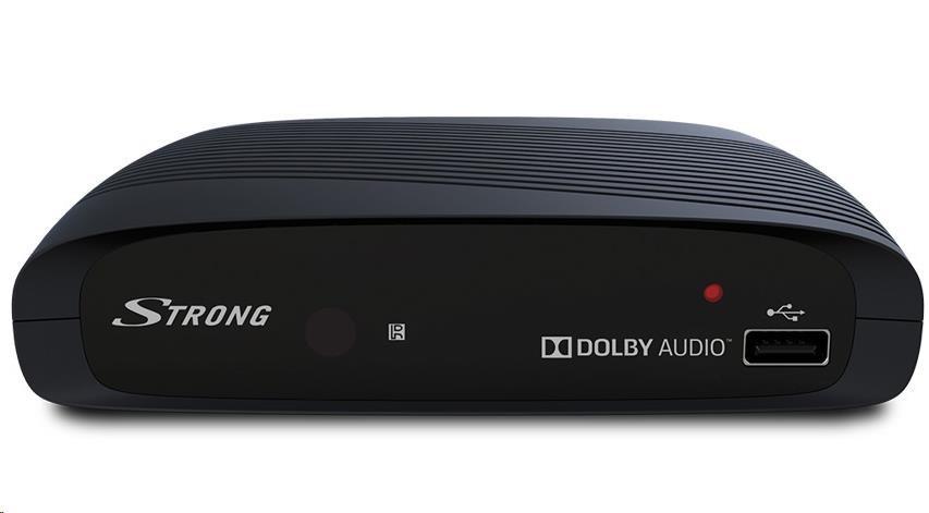 STRONG PRIMAVIII DVB-T HD přijímač pro příjem digitálních nekódovaných televizních stanic, přehrávání multimédií z USB