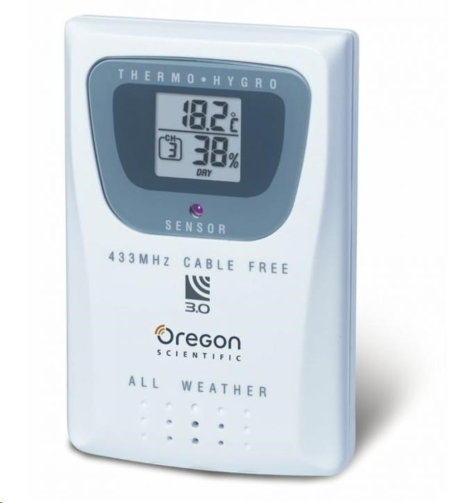 Oregon THGR810 - bezdrátové čidlo k modelu LW301, WMR80, WMR88, WMR89, WMR90, WMR100, WMR200, WMR200 plus a WMRS200