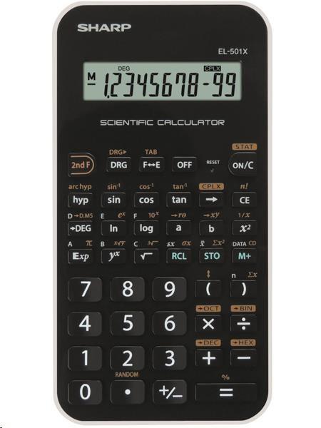 SHARP kalkulačka - EL501XBWH - blister