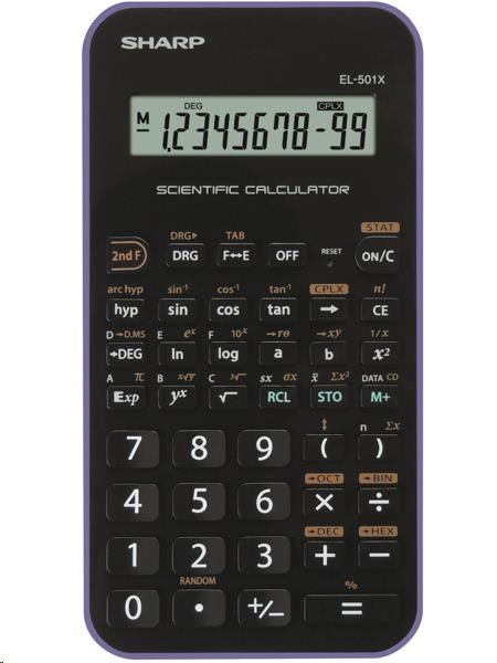 SHARP kalkulačka - EL501XBVL - blister