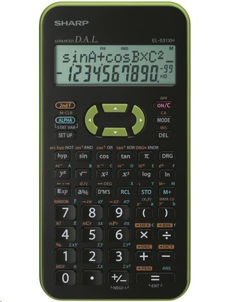 SHARP kalkulačka - EL531XHBGR - blister
