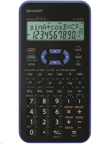 SHARP kalkulačka - EL531XHBVL - blister
