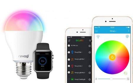 Revogi Color LED Light LTB012, Bluetooth barevná žárovka