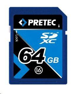 Bazar - PRETEC Secure Digital SDXC class 10 ( 33MB/s, 21MB/s ) - 64GB, z opravy