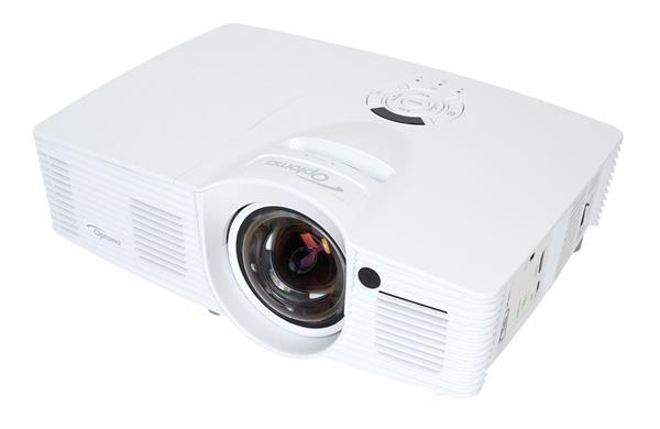 Optoma projektor GT1080e short throw (DLP, FULL 3D 1080p, 3 000 ANSI, 25 000:1, 2x HDMI, MHL, 10W speaker) - BAZAR