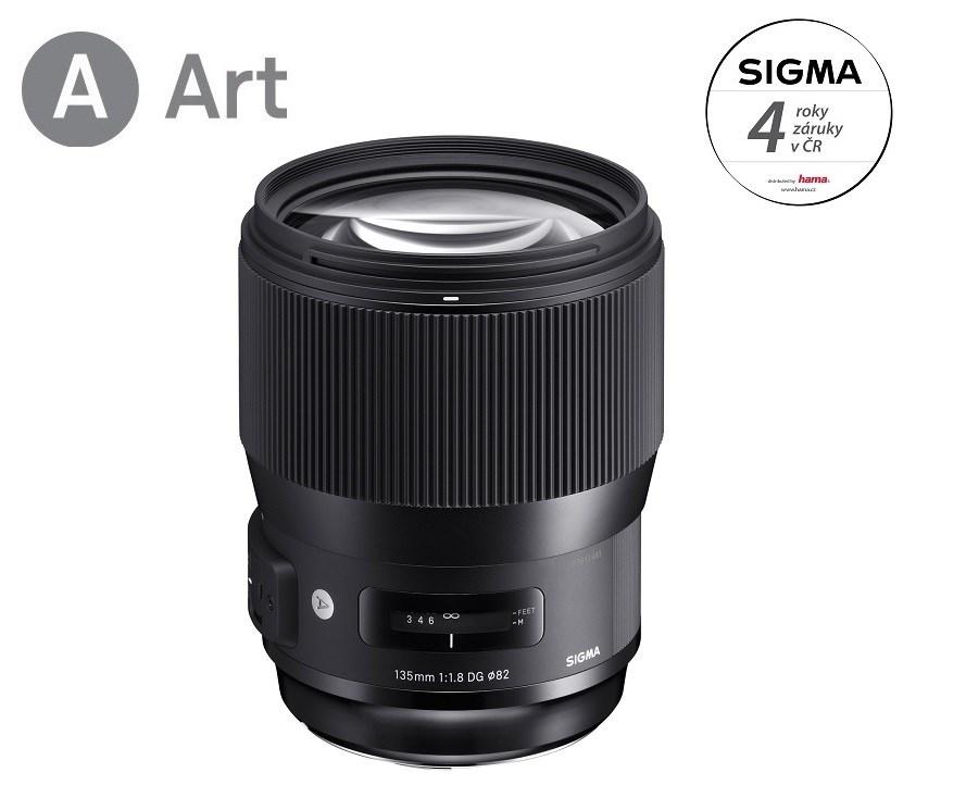 SIGMA 135/1.8 DG HSM ART Nikon