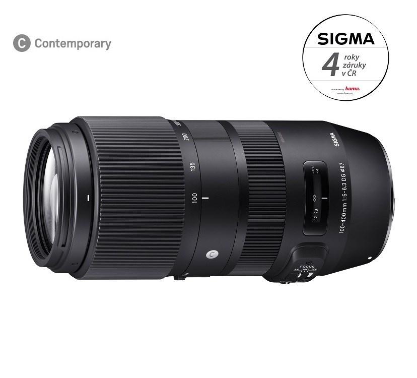 SIGMA 100-400/5-6.3 DG OS HSM Contemporary Nikon