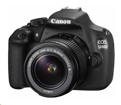 Canon EOS 1200D Body zrcadlovka 18.0MPix + 18-55 III DC - Value Up Kit - BAZAR z opravy