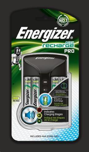 ENERGIZER Nabíječka baterií - Pro Charger +4AA Power Plus 2000 mAh