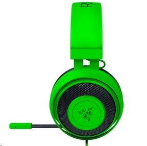 RAZER sluchátka s mikrofonem Kraken Pro Green V2