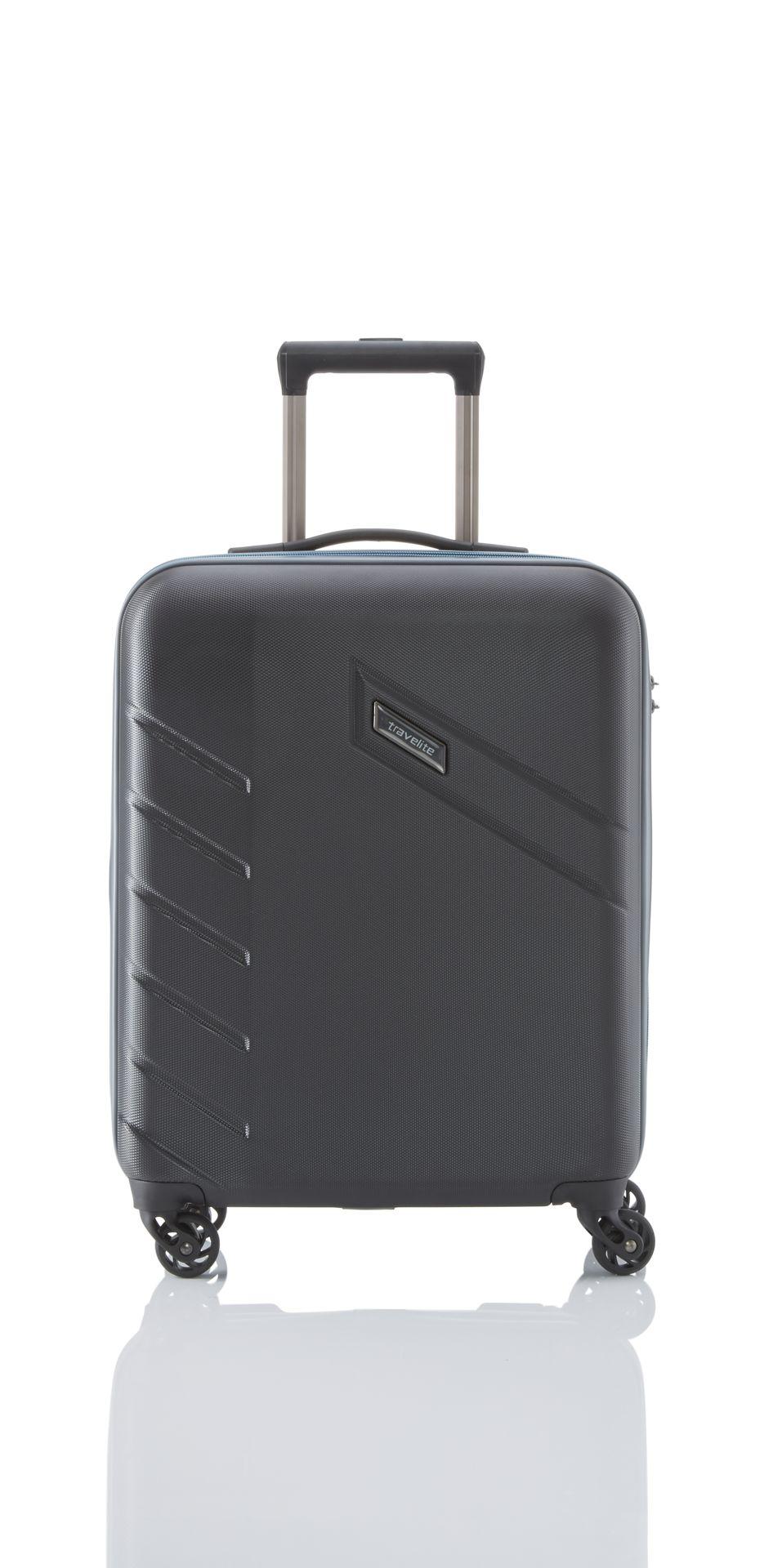 Travelite Tourer 4w S,M,L Black – sada 3 kufrů
