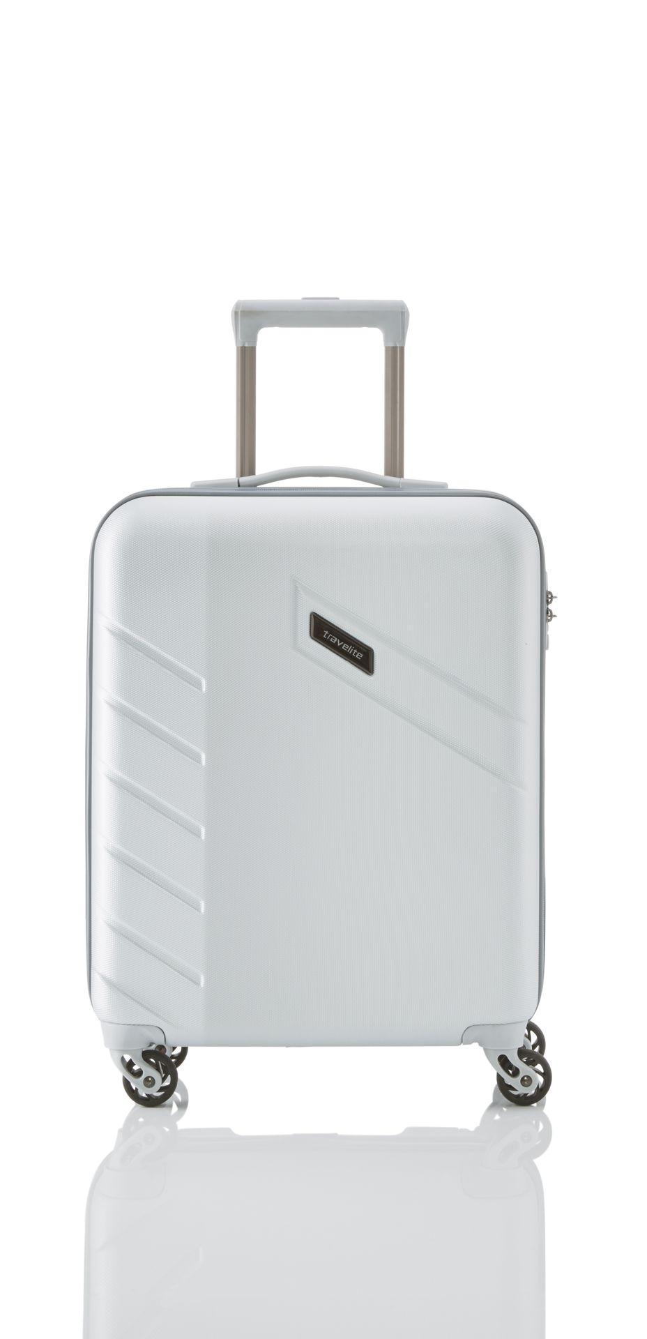 Travelite Tourer 4w S,M,L Silver – sada 3 kufrů