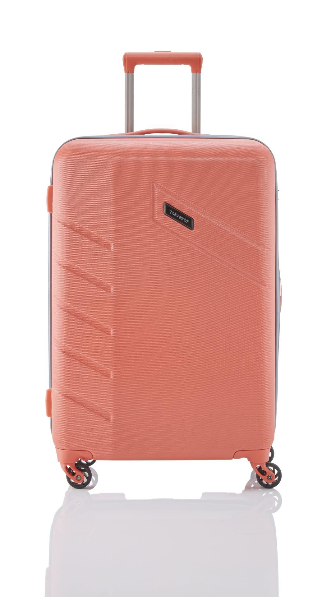 Travelite Tourer 4w S,M,L Salmon – sada 3 kufrů