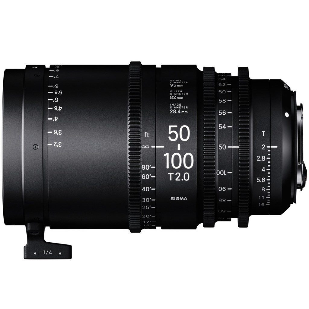 SIGMA CINE 50-100mm T2 EF mount - Canon