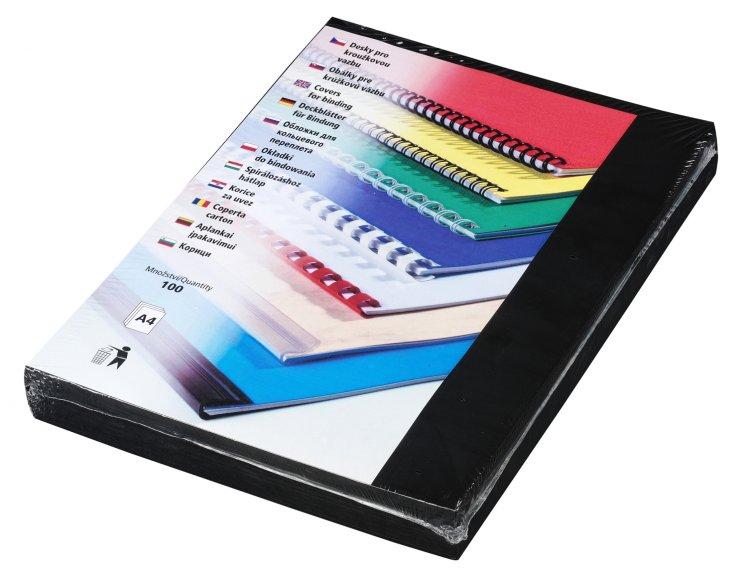 Desky Futura A4 černé
