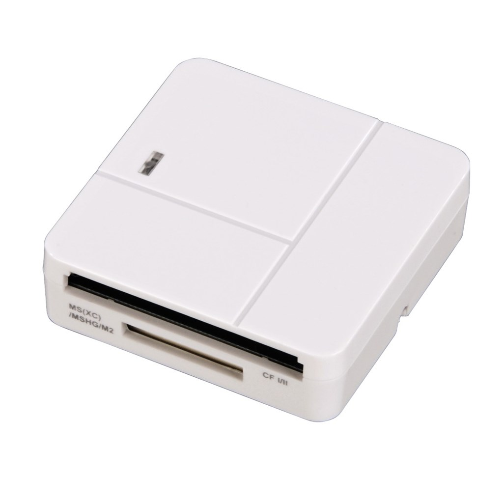Hama All in One Multi-Card Reader, Basic, bílá