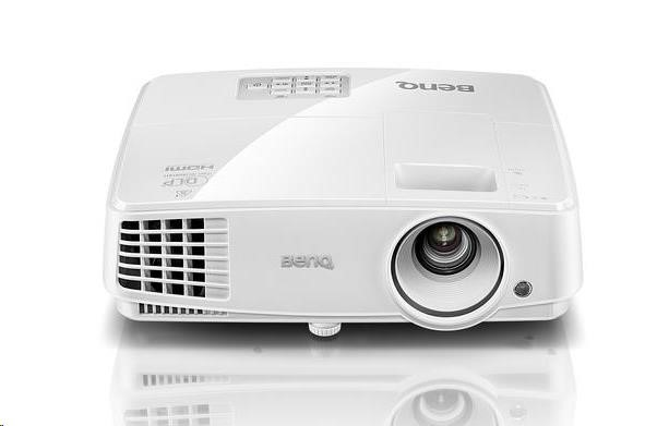 BENQ Dataprojektor MW533 DLP; WXGA; 3300 ANSI, HDMI, speaker
