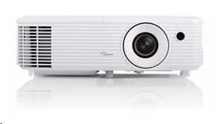Optoma projektor HD27 (DLP, FULL 3D, 1080p, 3 200 ANSI, 25 000:1, 2x HDMI + plátno ZDARMA