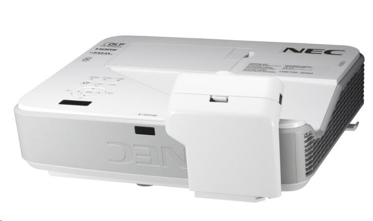NEC Projektor DLP U321Hi - Multi-Touch (1920x1080 FULL HD,3200 ANSI,10000:1) +držák,Multipen NP04Wi,HDBaseT Switcher