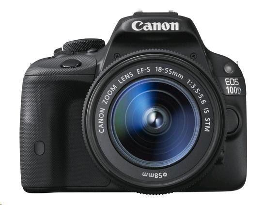 Canon EOS 100D Body zrcadlovka 18.0MPix + EF-s 18-55mm IS STM