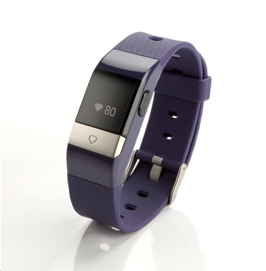 Mio MiVia Essential 350 - chytrý náramek - fialový