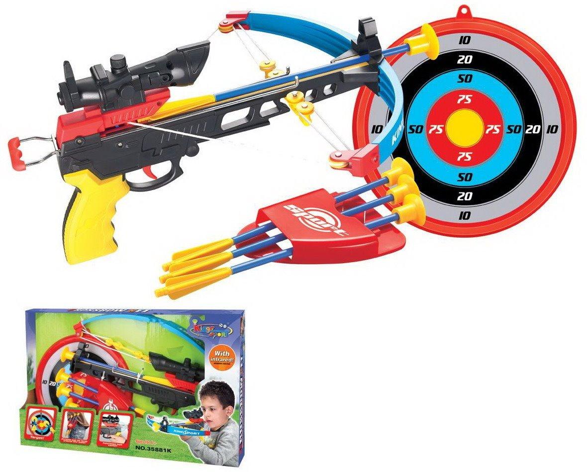 Hrací set G21 Kuše pistolová modrá