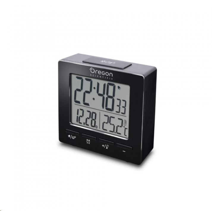 Oregon RM511BK - digitální budík s teploměrem