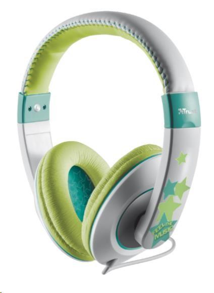 TRUST Duga In-Ear Headphones - neon purple