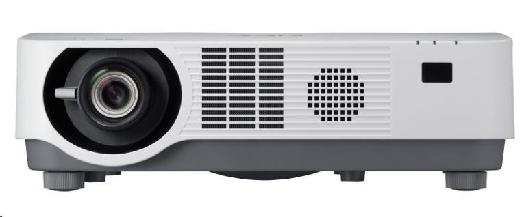 NEC Projektor DLP P502HL-2 (1920x1080,5000ANSI lm,15000:1), 1.7x Zoom,20000h/lamp,2x HDMI,VGA,RCA,RJ45, Wlan optional