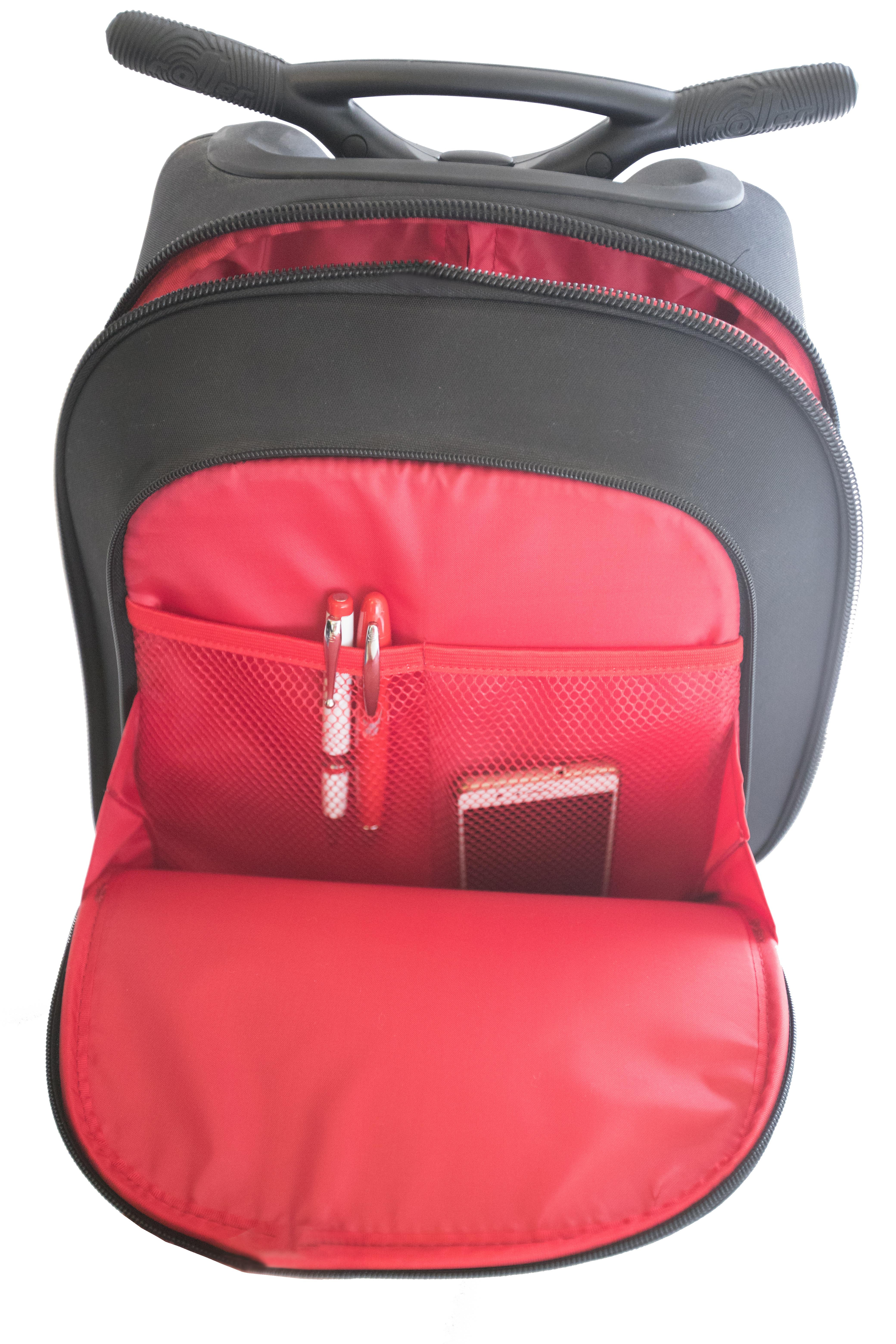 Školní taška na kolečkách Nikidom Roller Mandala  9e653b6493